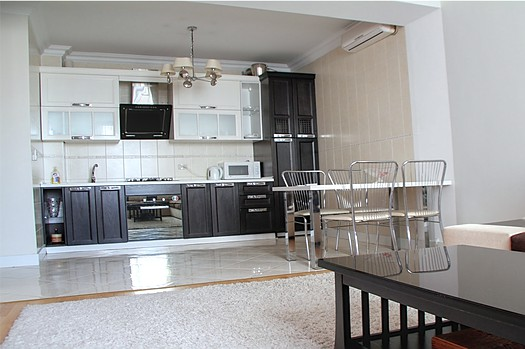 Monthly rental in the center of Chisinau: 2 rooms, 1 bedroom, 47 m²