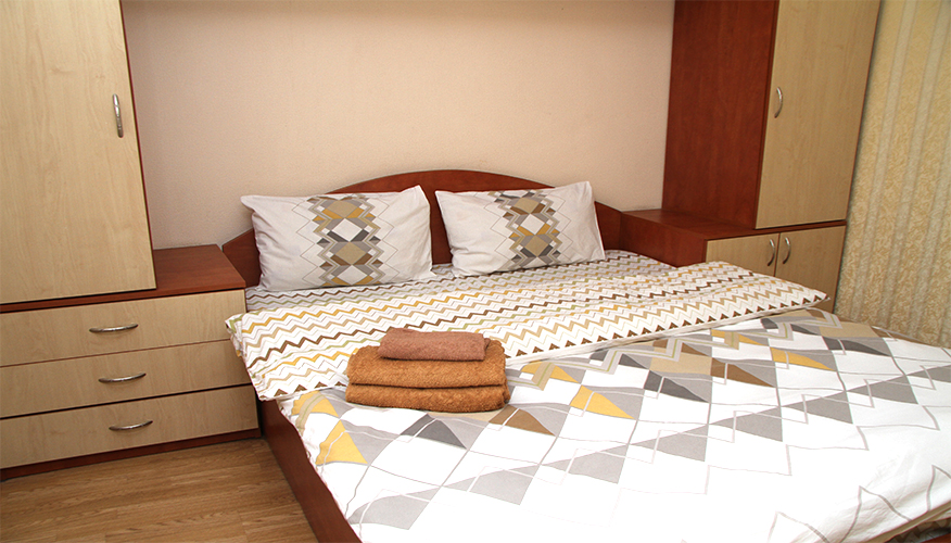 Central Park Overview is a 2 rooms apartment for rent in Chisinau, Moldova