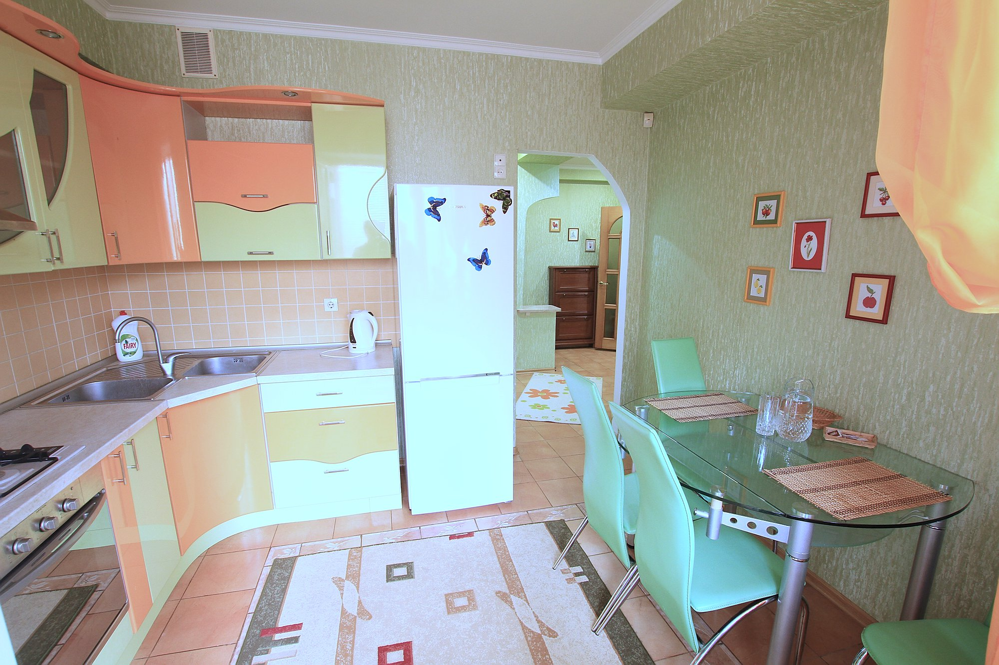 Anestiade Studio is a 1 room apartment for rent in Chisinau, Moldova