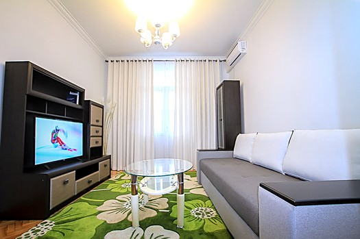 Rent furnished apartment in Chisinau city center: 2 rooms, 1 bedroom, 47 m²
