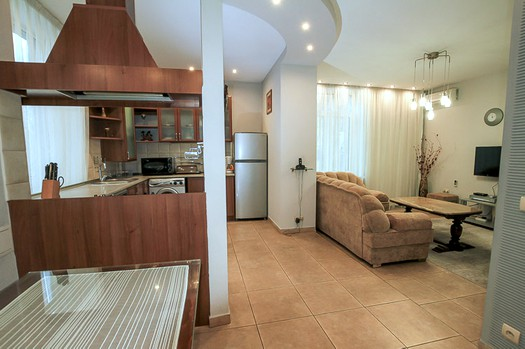 Apartment for rent for couples in Chisinau: 2 rooms, 1 bedroom, 60 m²